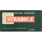 Scrabble �dition Fran�aise Originale, R�glettes Bois, �dition Jeux S.W. Spear