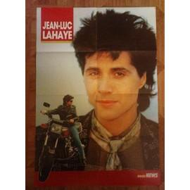 poster extrait du Rock News consacré à Jean-Luc Lahaye de 1986