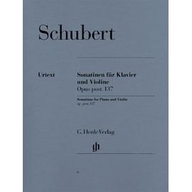 Sonatinen für Klavier und Violine Opus post. 137 Violine und Klavier