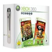 Microsoft Xbox 360 Premium 60 Go + Lego Indiana Jones + Kung Fu Panda