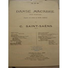 Danse Macabre Poeme Symphonique Op40, Piano (Cramer)