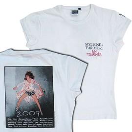 T-shirt Mylene Farmer En tournée 2009 - Taille S - pour femme