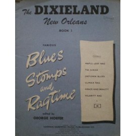 « Book 3-Famous blues stomps & ragtime »