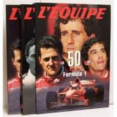 L'equipe : 50 Ans De Formule 1 - 1950-1999 En 2 Tomes : 1950-1978 / 1979-1999 de L'Equipe