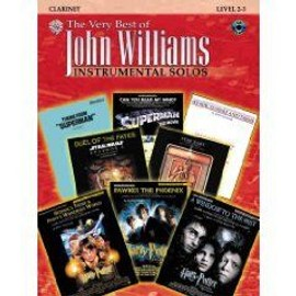 The Very Best of John Williams : Instrumental Solos Clarinet