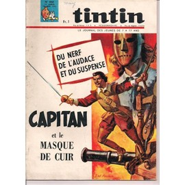 Tintin N� 868 : Capitan Et Le Masque De Cuir