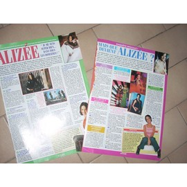 Alizée - Lot de 2 pages d'interview