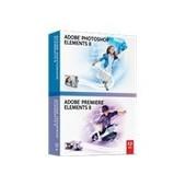 Adobe Photoshop Elements 8 Plus Adobe Premiere Elements 8 - Ensemble De Bo�tes - 1 Utilisateur - Dvd ( Mini-Bo�tier ) - Win - Allemand