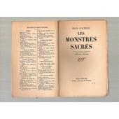 Les Monstres Sacres de Jean Cocteau