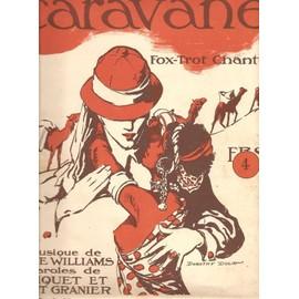 En caravane (Fox trot chanté) - Partition Chant & Piano - 1923
