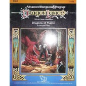 Modules De Sc�narios Tsr Dragonlance 1984 - Dl2 Dragons Of Flame - Pour Jeux De R�les Donjons Et Dragons D&d Ad&d Warhammer