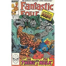 Fantastic Four N� 320 : The Shadow Of Doom : Thing Vs. Hulk