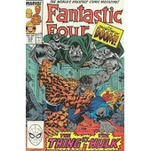 Fantastic Four N� 320 : The Shadow Of Doom : Thing Vs. Hulk