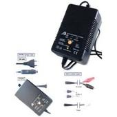 Chargeur 220/12 Volts Pour Batterie Arme Airsoft