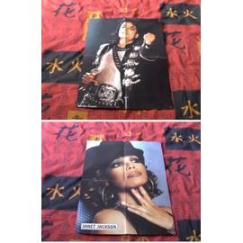 Poster Michael Jackson & Janet Jackson