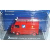 Citroen Type H Pompiers Usines Michelin 1/43