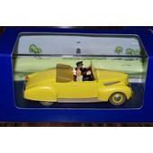 Tintin Cabriolet Du Capitaine Haddock Les 7 Boules De Cristal
