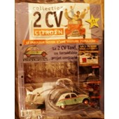 Collection Hachette 2 Cv Azl Citroen Taxi 1957