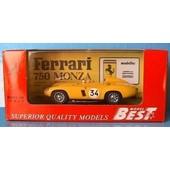 Ferrari 750 Monza #34 Spa 1955 Best 9046 1/43 Yellow