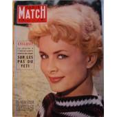 Paris Match N� 475 : Jacqueline Huet / Le Yeti / Les Americains Par Cartier-Bresson / L'indus Par Reyer / Margaret / Modigliani