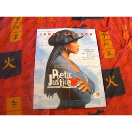 Janet Jackson Poster Poetic Justice