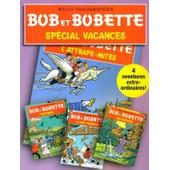 Bob Et Bobette - Album Sp�cial Vacances De 4 Bd - Wattman, La Nef Fant�me, Les Rapaces Et L'attrape-Mites. de willy vandersteen