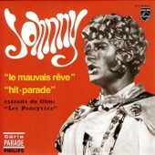 Johnny Hallyday Cd Single Le Mauvais R�ve / Hit Parade