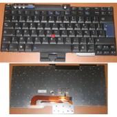 Clavier Azerty Fran�ais / French Pour IBM Lenovo ThinkPad T60 R60 Z60 T60p T61 T61p R60e R60i R61 R61e R61i R400 R500 T400 T500 W500 W700 W700ds Series, Noir / Black