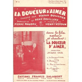 La douceur d'aimer (Film La douceur d'aimer) - Fox Trot - Chant seul - 1931
