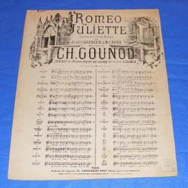 Roméo et Juliette opéra en cinq actes