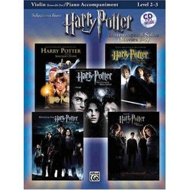 Selections from Harry Potter + 1 CD - Violon - Alfred