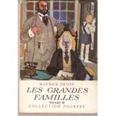 Les Grandes Familles - Tome 2 de Maurice Druon