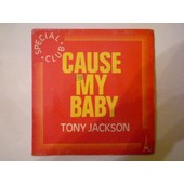 Jenny Girl I Love You / Cause My Baby (Pressage Liban) - Jackson Tony
