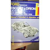 Ford Escort (Petrol) 1980-90 Service And Repair Manual de John S Mead