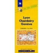 Lyon Chamb�ry Gen�ve - 1/200 000 de Collectif