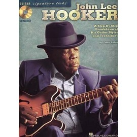 John Lee Hooker Guitar Signature Licks (+1 CD) - Hal Leonard