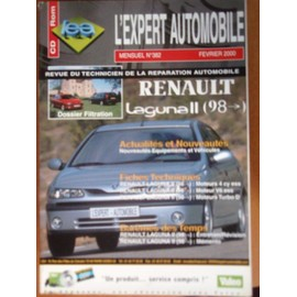 Revue Technique Renault Laguna Ii (Depuis 1998) N� 382