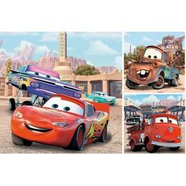 Puzzle 3 X 49 Pi�ces - Disney Cars : Bons Amis