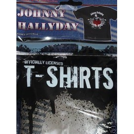 T-shirt Johnny Hallyday - taille m