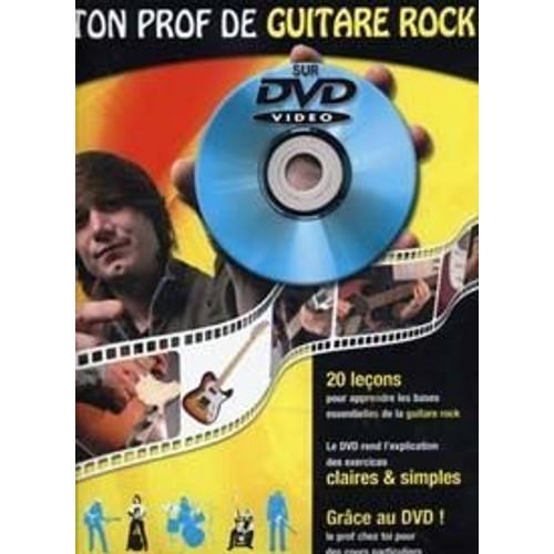 Coup De Pouce Roux Julien/miqueu Laurent Ton Prof De Guitare Rock Dvd