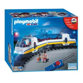 Occasion, Playmobil 4011 - Train RC avec phares