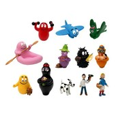 Barbapapa - Tubo De 12 Figurines