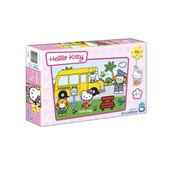Puzzle 60 Pi�ces - Hello Kitty : Petit Train
