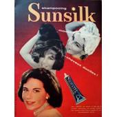 Publicite Ancienne (Fevrier 1958) Pour Le Shampooing
