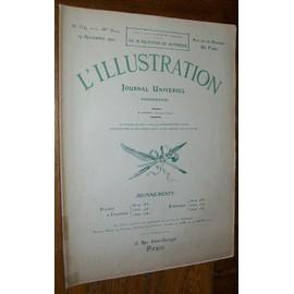L'illustration N� 3534 Du 19/11/1910 Crue Seine Tolstoi Mariage Mode