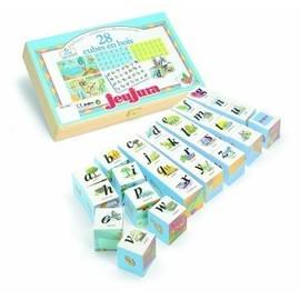 Cubes Illustr�s Alphabet Et Chiffres - 28 Cubes