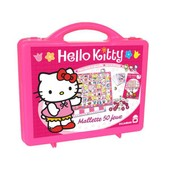 Hello Kitty - Mallette 50 Jeux