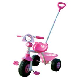 Tricycle Avec Canne De Direction - Hello Kitty