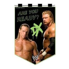 Wwe Wrestling Fanion Dx Are You Ready 13 X 20 Cm