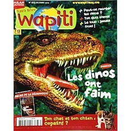 Wapiti N� 273 : Les Dinos Ont Faim